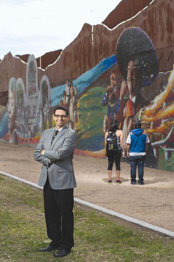 Teacher Hector Acosta